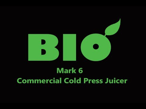 BIO Mark 6 Commercial Cold Press Juicer