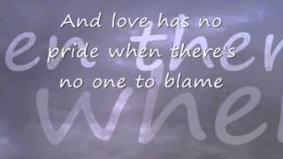 Linda Ronstadt: Love has no pride with lyrics