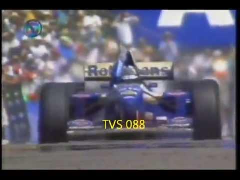 Adelaide 1995 13º Vitória do Damon Hill