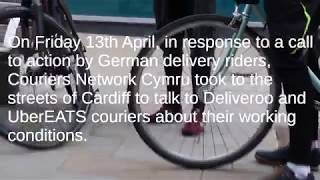 Couriers Network Cymru - Solidarity with German Couriers!