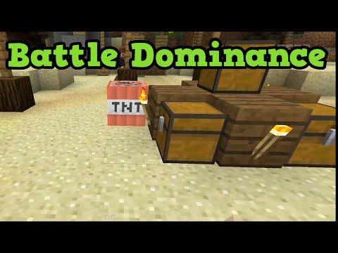 Minecraft BATTLE Gameplay - COVE - Free Map & Chest Refills