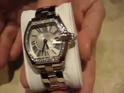 Cartier Gold Watch Mens Cartier Roadster Watch Gold