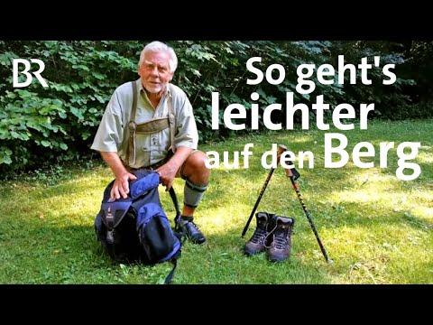 Ausflugstipps in Bayern: Wanderrucksack richtig packen - Bayerisches Fernsehen