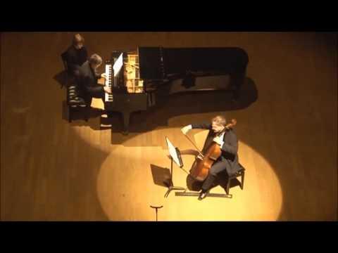 """Alberic Magnard sonate violoncelle et piano """"sans faiblir"""" et """"Funèbre"""""""