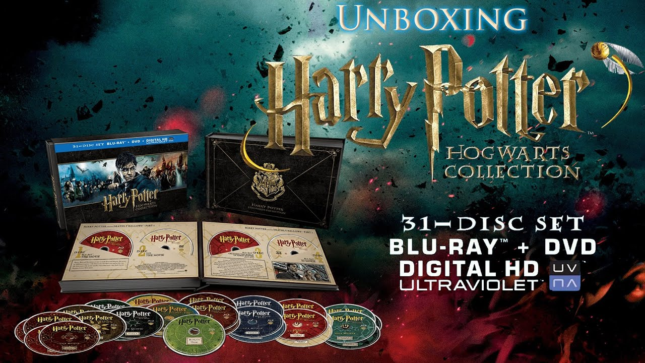 Harry Potter Hogwarts Collection 31-Disc Blu-Ray Box Set