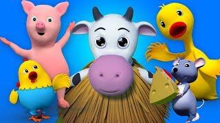звуковая песня животных дети видео малыш песни Animal Sounds Learn Animals Kids Video
