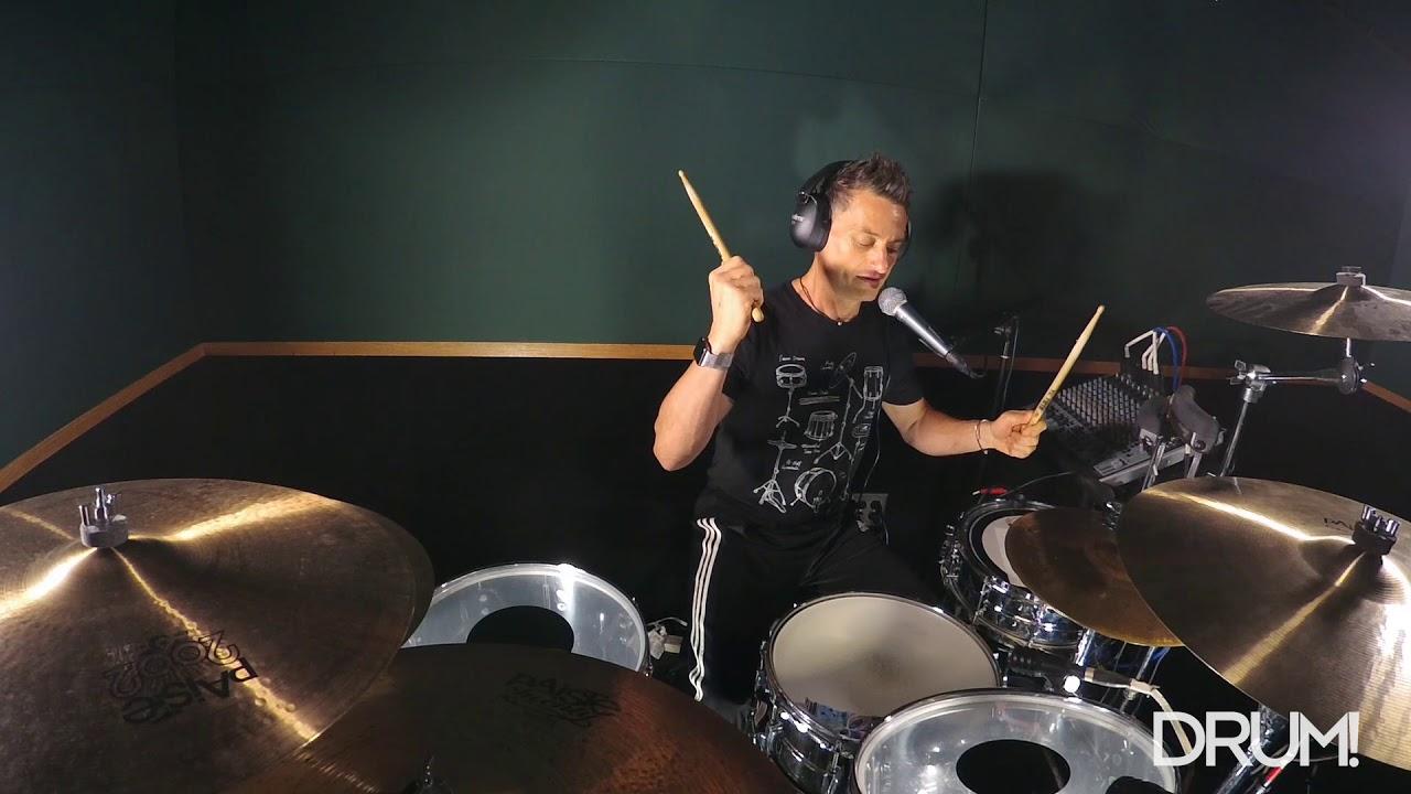 Drum Lesson: 4-On-The-Floor Disco - YouTube