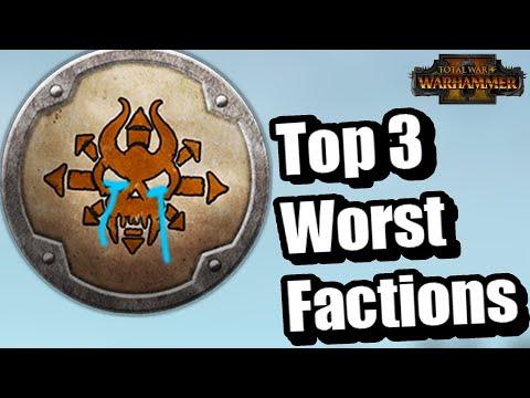 Top 3 Worst factions in Total War: Warhammer 2 |