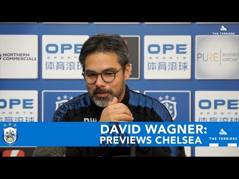 WATCH: David Wagner previews Chelsea