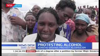 Kericho widows hold protests on alcoholism