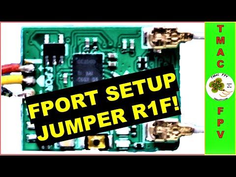 Фото FPORT SETUP (JUMPER R1F RECEIVER!)