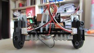 Engel Algılayan Robot