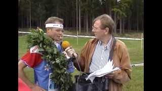 Budkavle SM Orientering 2001 i Hälsingland