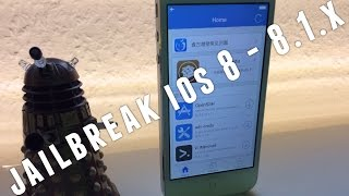 iOS 8 -  8.1.x JAILBREAK untethered mit PANGU - ANLEITUNG Tutorial Deutsch iPhone & Co.