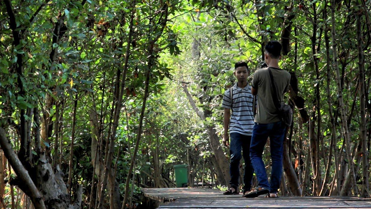 Hutan Mangrove Wonorejo, tempat ngadem yg serasa bukan di Surabaya - YouTube