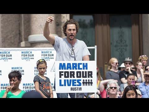 McConaughey sees both sides of gun debate