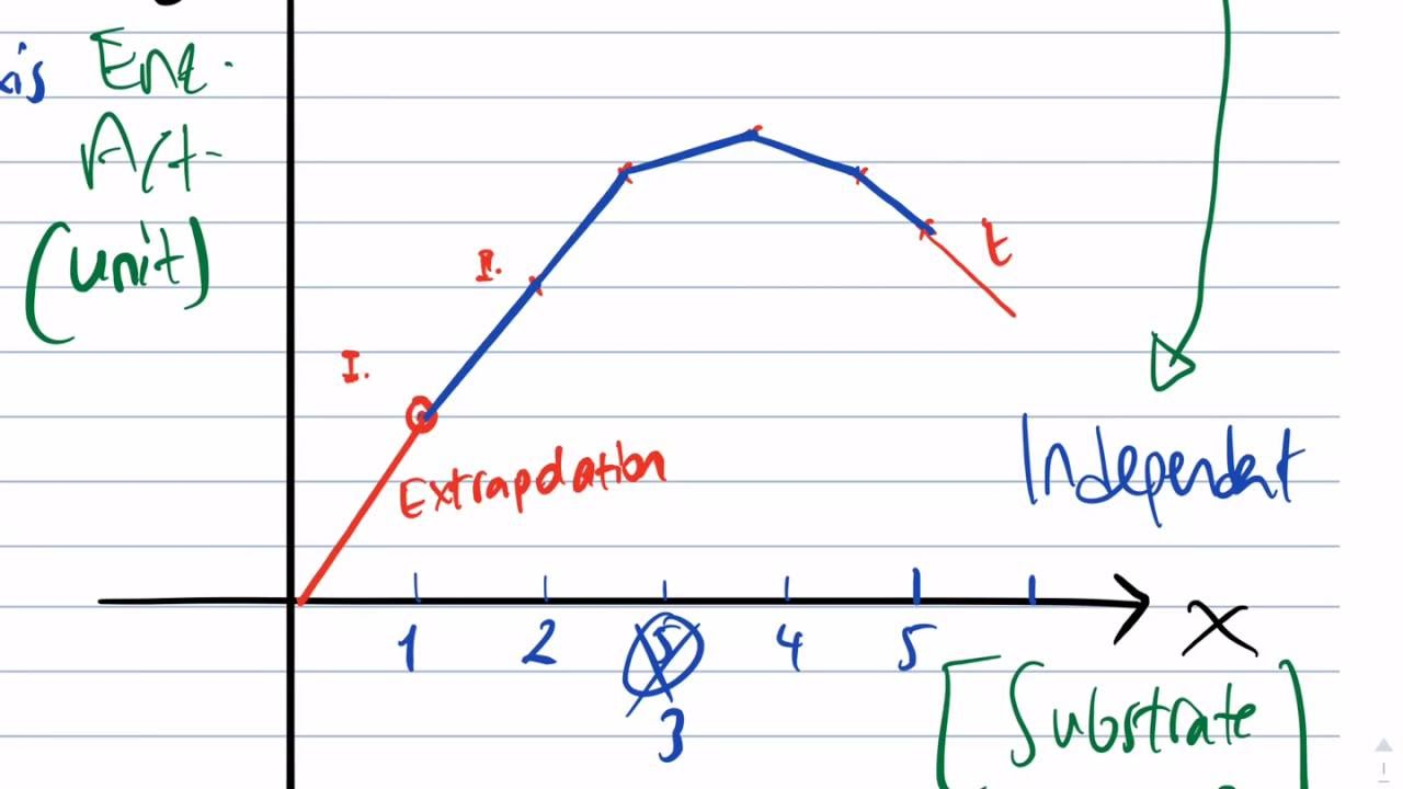 Drawing Line Graph Questions : Guidelines for drawing graphs in igcse a level biology