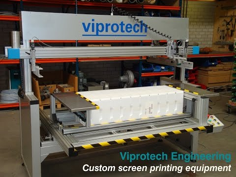 Viprotech object screenprinting machine