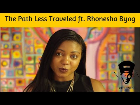 The Path Less Traveled Series ft. Journalist + Her Agenda Founder, Rhonesha Byng