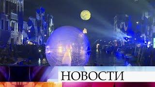 В Италии проходит традиционный венецианский карнавал.