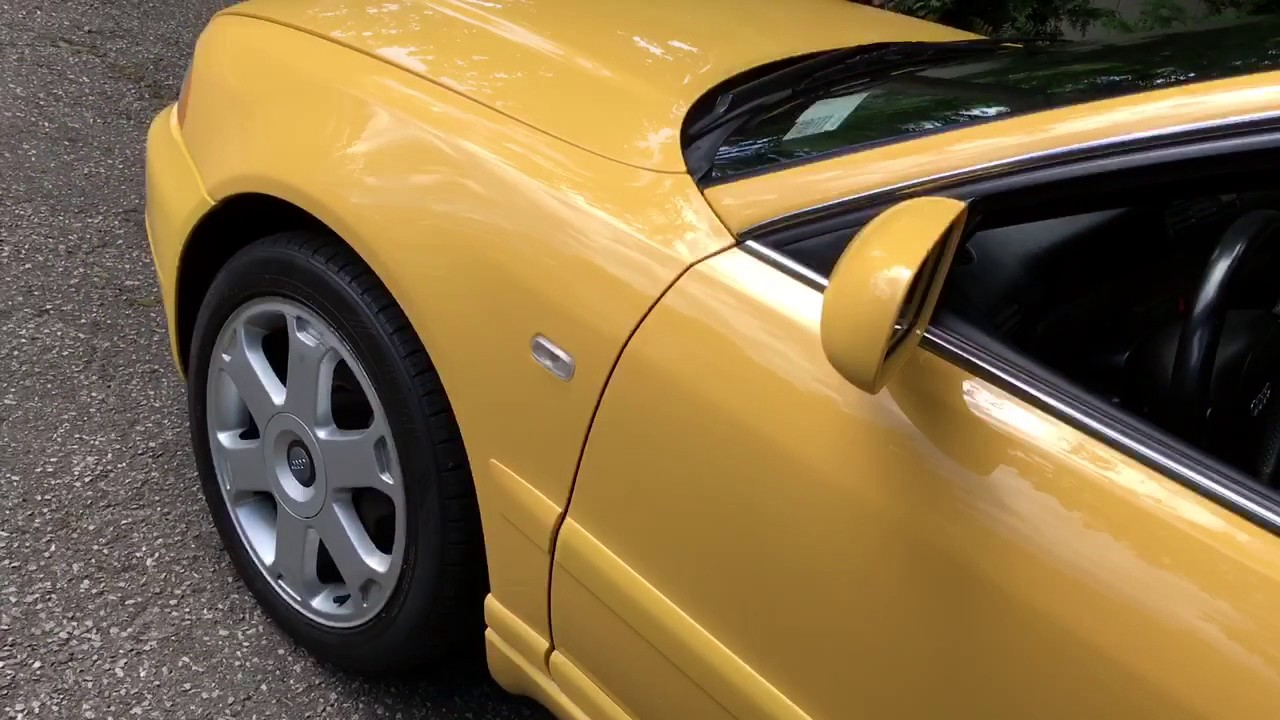 2001 Audi S4 Imola Yellow Walkaround Youtube