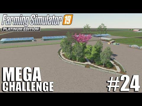 MEGA Equipment Challenge 2.0 | Nebraska Map | Timelapse #24 | FS19 | Farming Simulator 19
