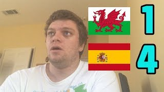 Wales vs Spain(1-4) Paco Alcacer, Sergio Ramos, and Marc Bartra GOALS Reaction! 2018 Int'l Friendly