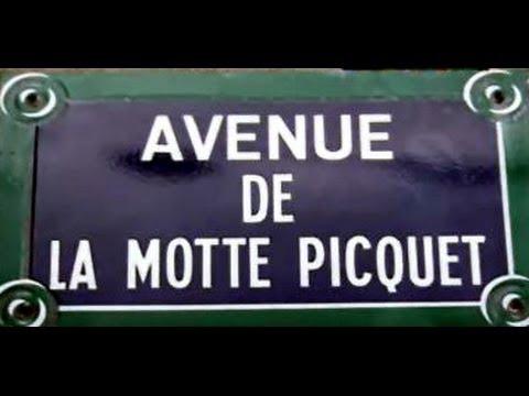 Avenue de la Motte Picquet Paris Arrondissements  7e et 15e