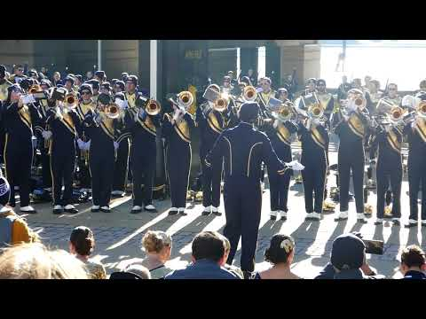 Pitt Band Trombones Sound of Silence