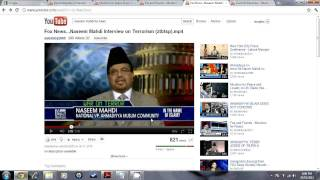 Akber Choudhry vs Ahmadiyya on Western Media and News