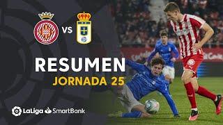 Resumen de Girona FC vs Real Oviedo (1-1)