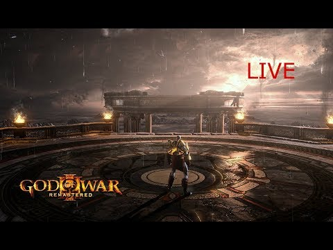 God of War Remastered LIVE (skip to 13:45 to avoid high pitched sound)