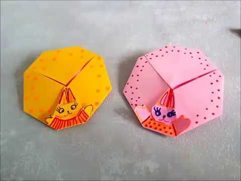 origami umschlag osterhase auf osterei selber basteln. Black Bedroom Furniture Sets. Home Design Ideas