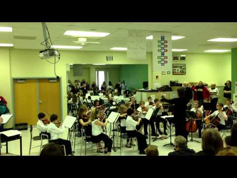 Immanuel Lutheran School Junior Orchestra's  perfomance at the Fine Arts Festival