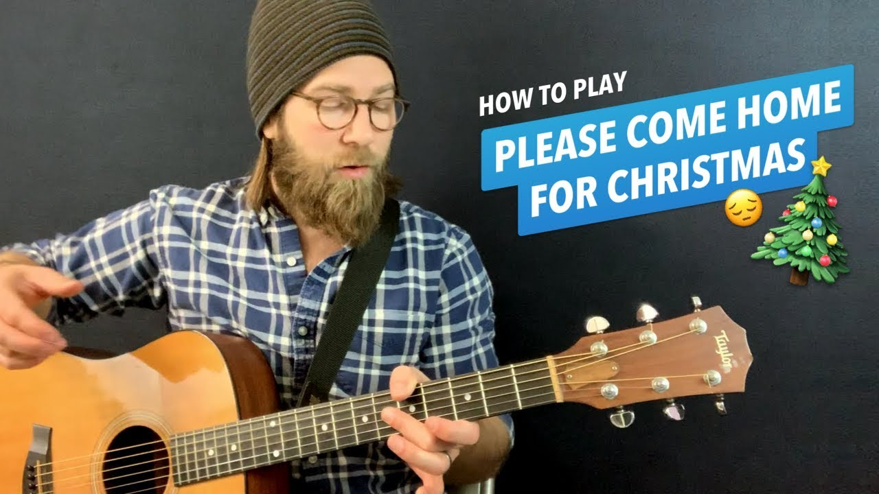 Please Come Home For Christmas Eagles.Please Come Home For Christmas Guitar Lesson W Chords Lyrics Charles Brown The Eagles