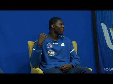 """Belemene 🇨🇬 """"Si no fuese jugador ahora sería militar en Congo"""" (2/5)"""