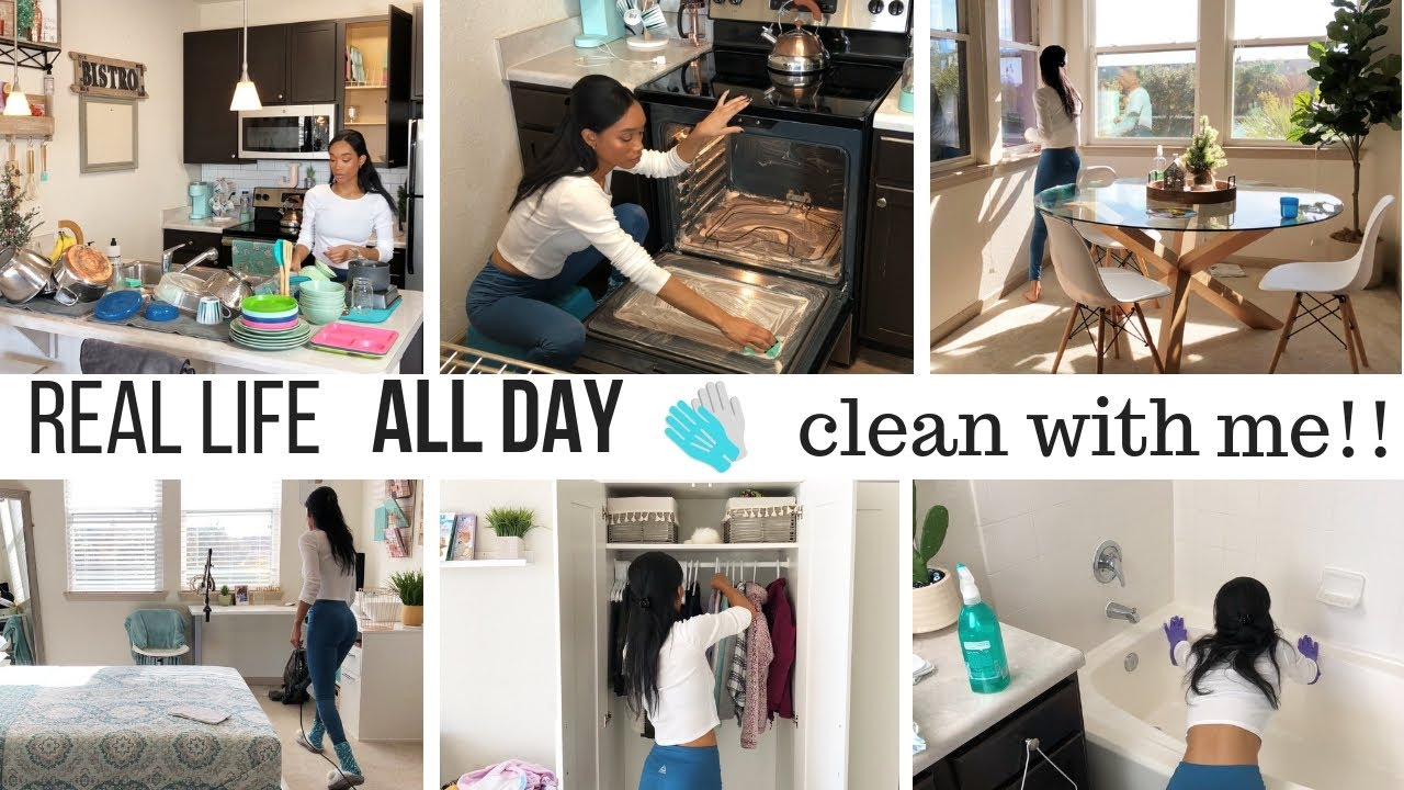 All Day Clean With Me New Cleaning Motivation Sahm Cleaning Routine Jessica Tull Cleaning
