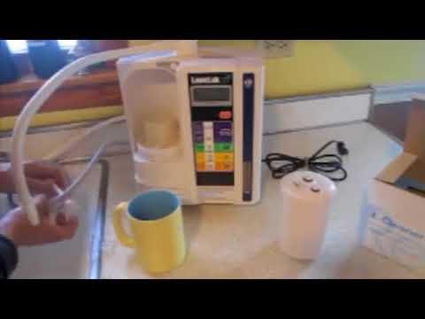 Как да почистваме Канген JR II и SD 501 / Kangen Alkaline Water Machine Cleaning