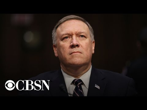 Secretary of State Mike Pompeo holds press conference today