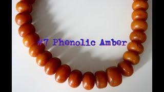 Antique Phenolic Amber