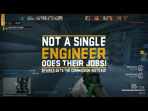Dirty Bomb - 0008: Highlight Reel I - Sparks doing Five Engineer Mercs' job!