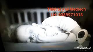 Máy báo khóc trẻ em - Camera giám sát 2 chiều