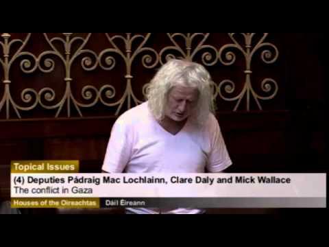 Irish Condemnation Of Zionist War Crimes In Gaza