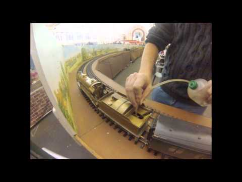 London Model Engineering Exhibition Electric and Steam powered Trains