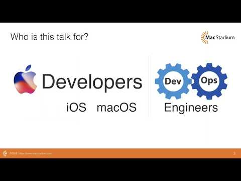 Webinar: Creating macOS Build Infrastructure in the Cloud