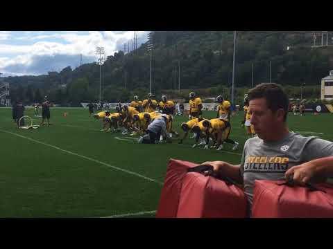T.J. Watt, Steelers start practice for Minnesota Vikings, Week 2