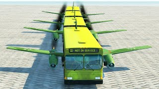 Articulated Bus Crashes #6 - BeamNG DRIVE | CrashTherapy