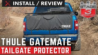 Ford F150 Thule GateMate 62 Inch Tailgate Protector Install and Review