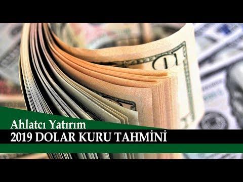 2019 Dolar Kuru Tahmini, Ahlatcı Yatırım