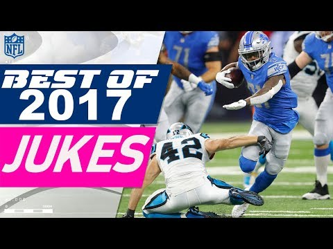 Best Jukes, Spins, & Elusive Moves of the 2017 Season! | NFL Highlights
